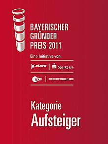 Bayerischer Gründerpreis 2011 - Kategorie Aufsteiger