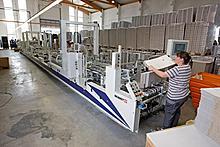 Gluing machine line 1: